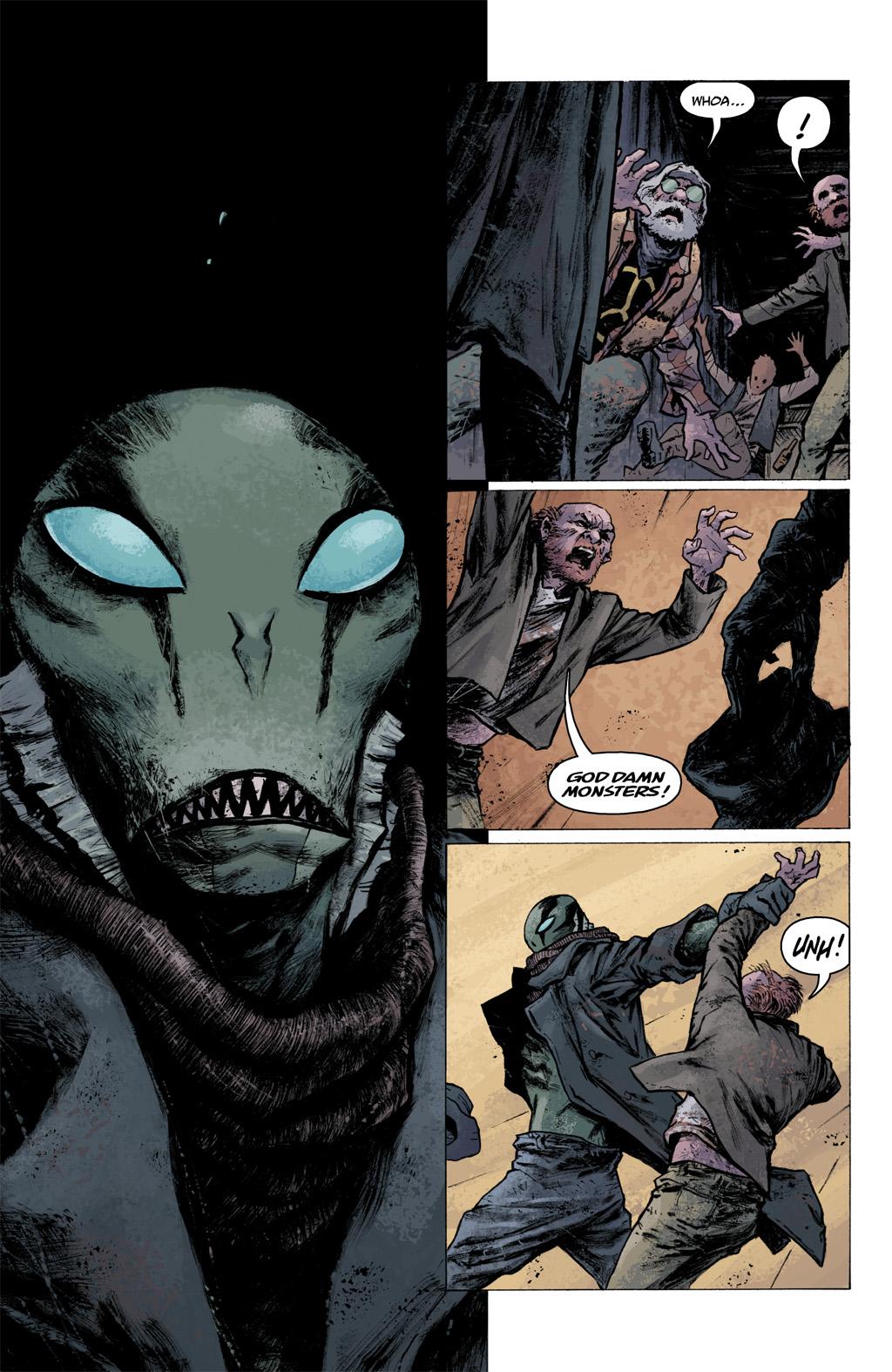 Read online Abe Sapien comic -  Issue #1 - 18