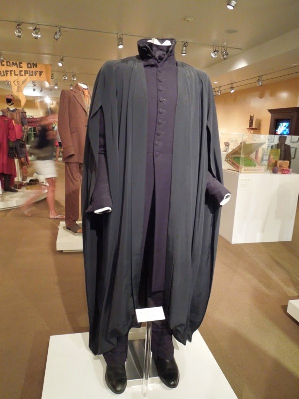 Alan Rickman Severus Snape costume Harry Potter Deathly Hallows 2