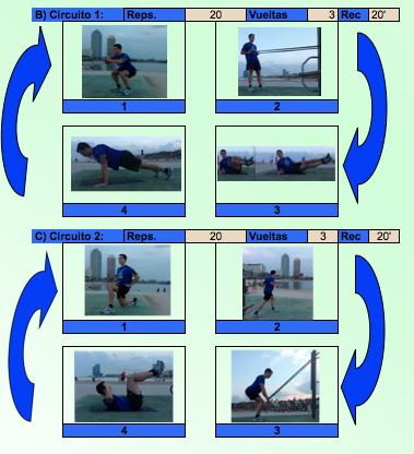 Circuito de musculación