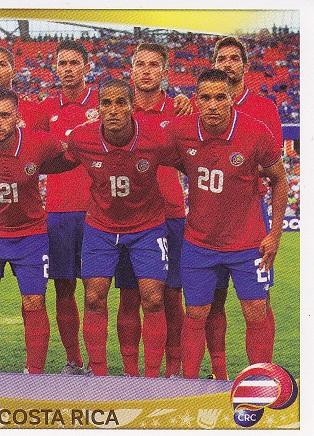 e996d53d4dd COPA AMÉRICA CENTENARIO 2016 de Panini Aquí teneis los 24 cromos de Costa  Rica
