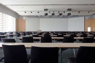 Sala para evento de formación