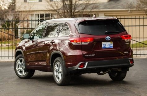 2017 Toyota Highlander Hybrid Le V6 Awd Electric Cars