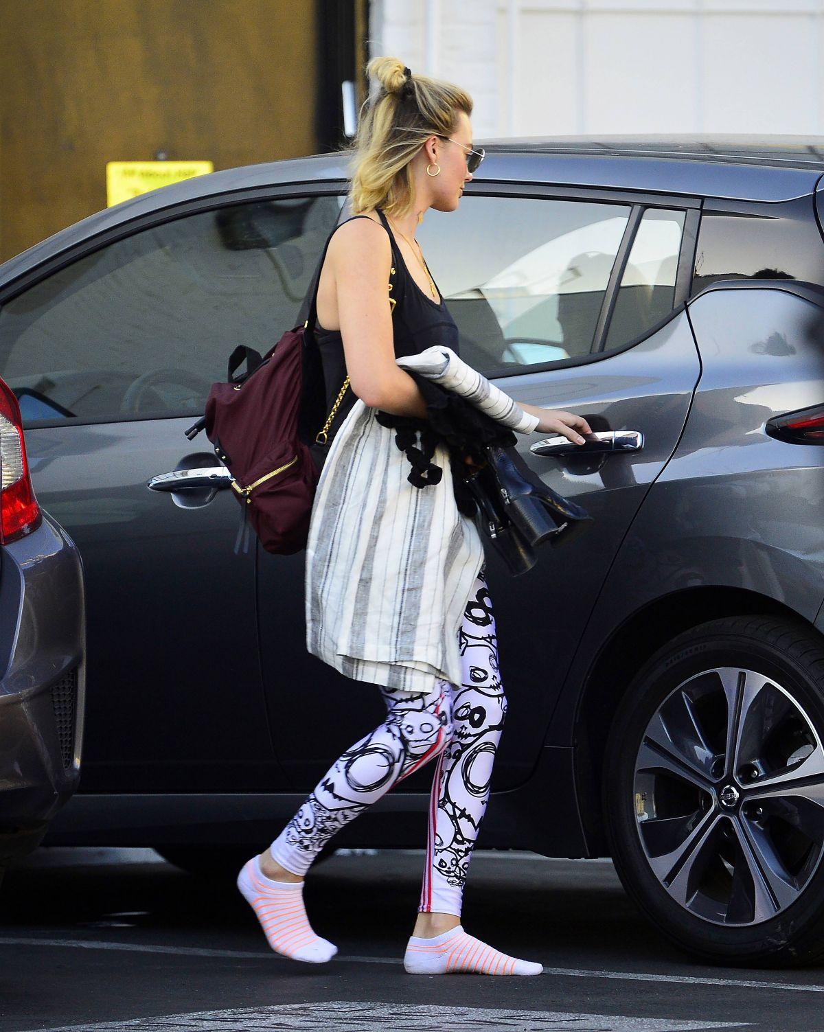 Margot Robbie Leaves a Gym in Los Angeles 06/11/2018