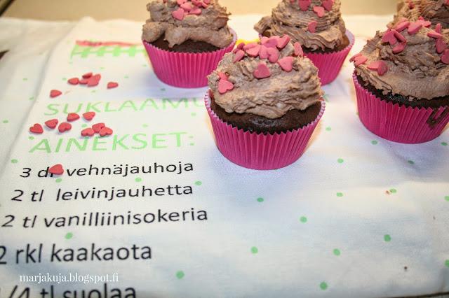 ystavanpaiva muffinssit