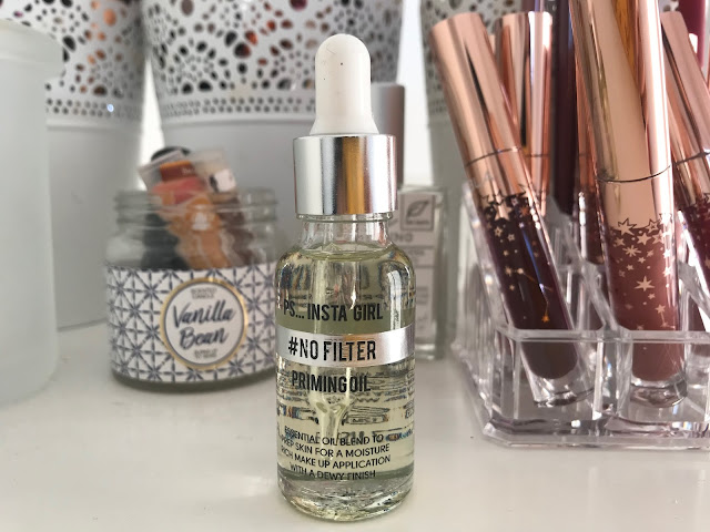 Review: PS...Insta Girl #NoFilter Priming Oil