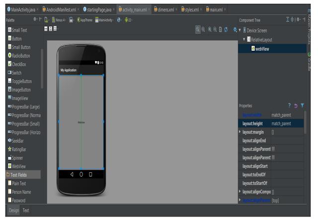 Android Studio Programlama Bölüm 9(WebView Kullanımı ve Uygulamada Web Sayfası Açma)