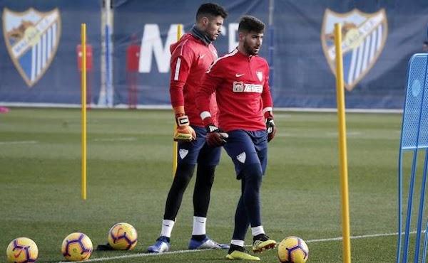 """Gonzalo - Málaga -: """"Un día viendo un partido de fútbol me dio por ser portero"""""""