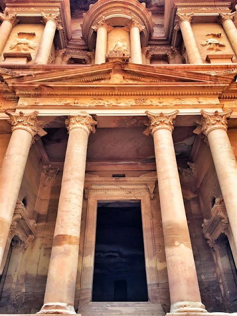 Petra Jordan lost city the monastery Ad Deir facade