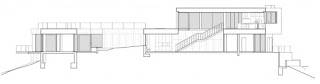 Contemporary Oak Pass House with Infinity Swimming Pool plan 2