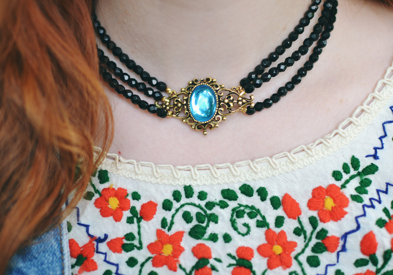 The Flying Clubhouse: Over All | necklace #timelessdesigns