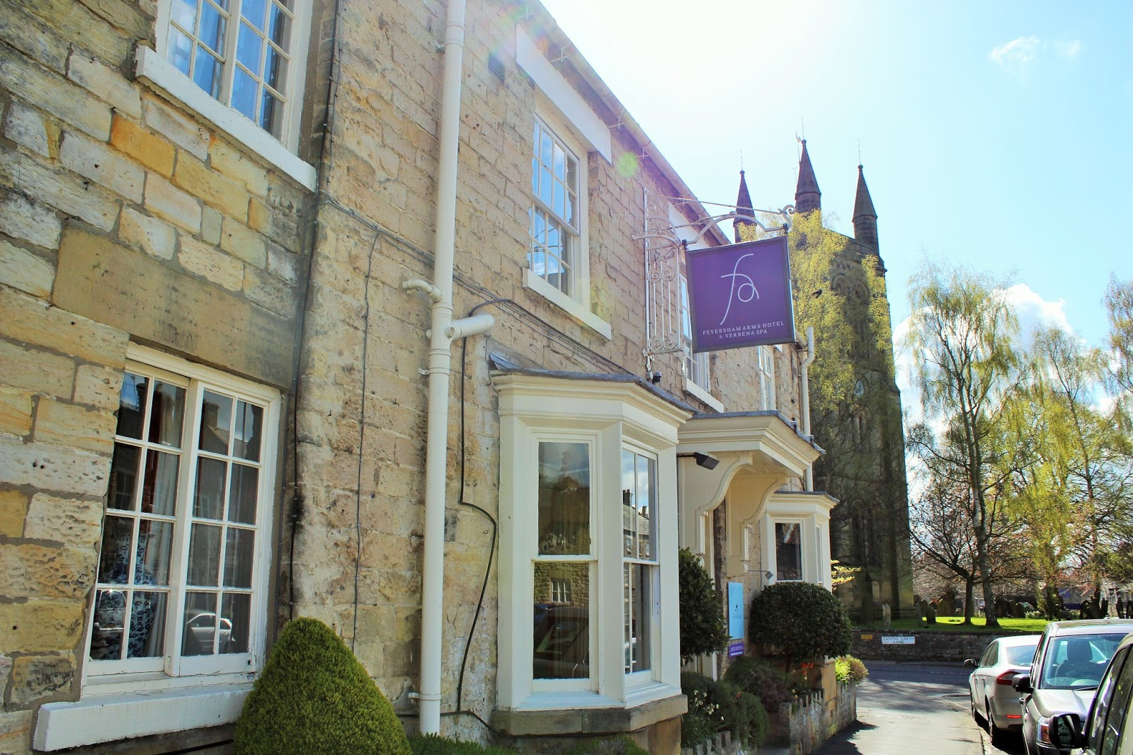 A Trip to North Yorkshire 4 - The Feversham Arms Hotel