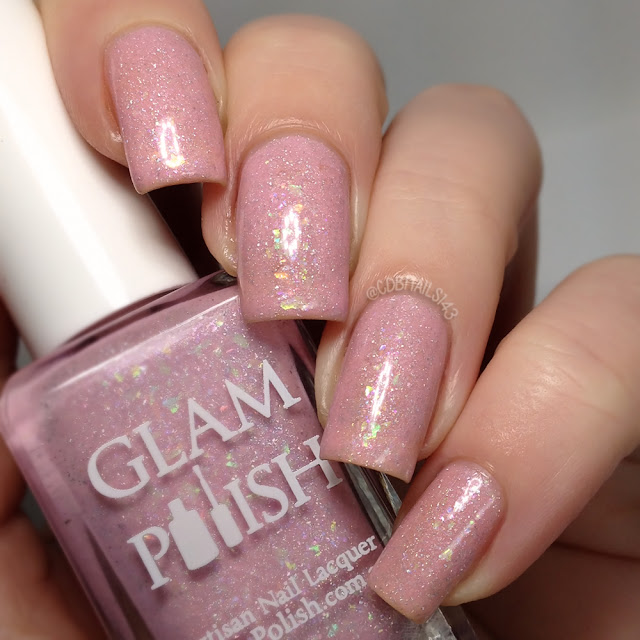Glam Polish-Too Pure To Be Pink