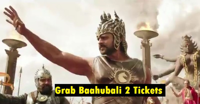 baahubali tickets