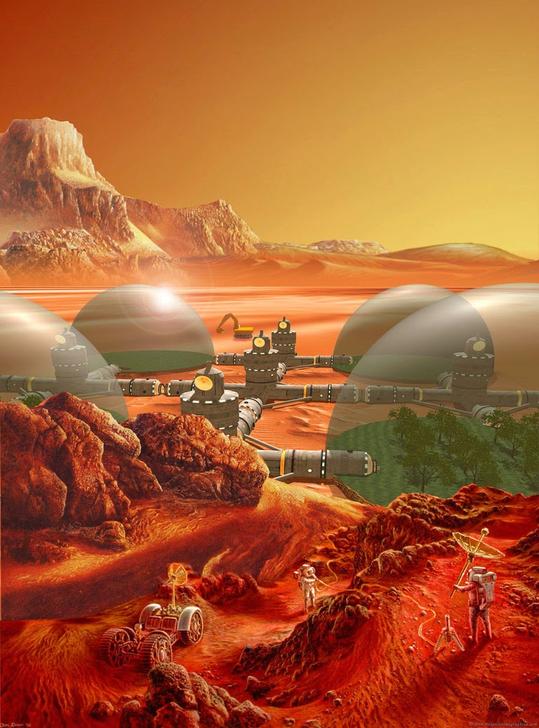 National Geographic Mars Colony - Pics about space