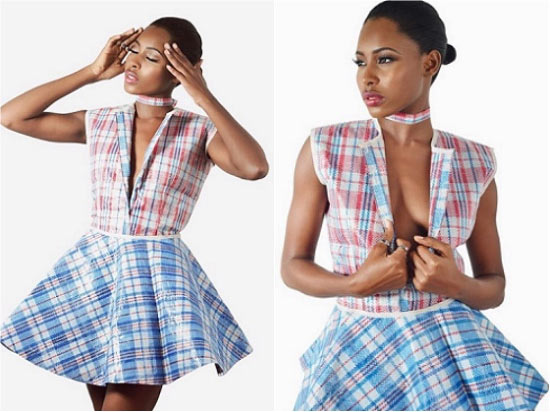 "This ""Ghana must go bag"" dress is outfit goals"