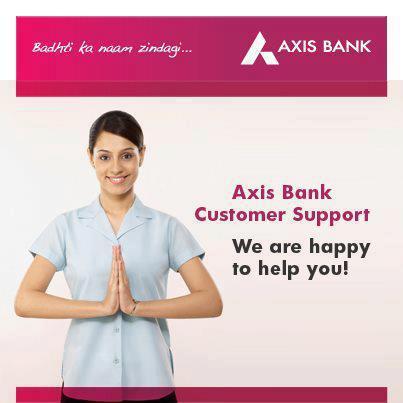 Axis Bank Car Loan Customer Care No