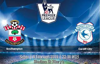 Prediksi Southampton Vs Cardiff City 9 Februari 2019
