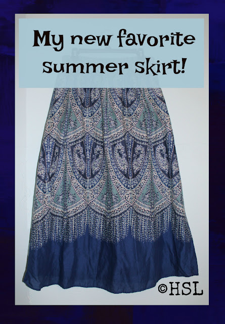 refashion maxi dress to skirt, easy summer sewing projects