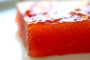 Flavors of brazil recipe quince paste marmelada - Delicious quince recipes autumns flavors on your table ...