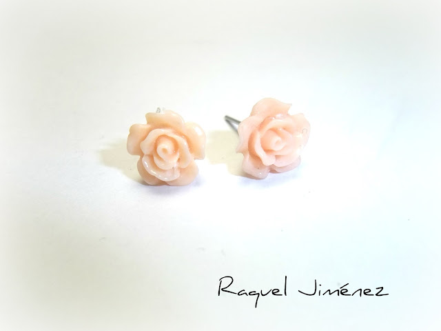 pendientes rosas