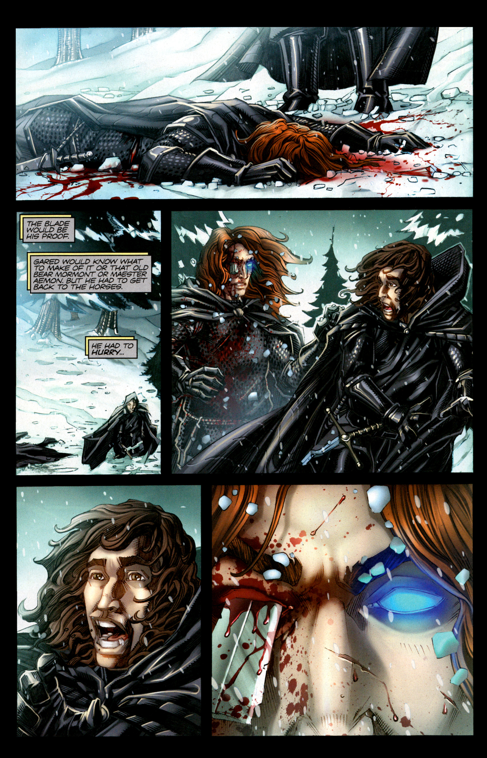 Read online A Game Of Thrones comic -  Issue #1 - 9