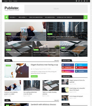 Premium Version Publister Blogger Template Free Download,Premium Version Publister Blogger Template,Publister Blogger Template