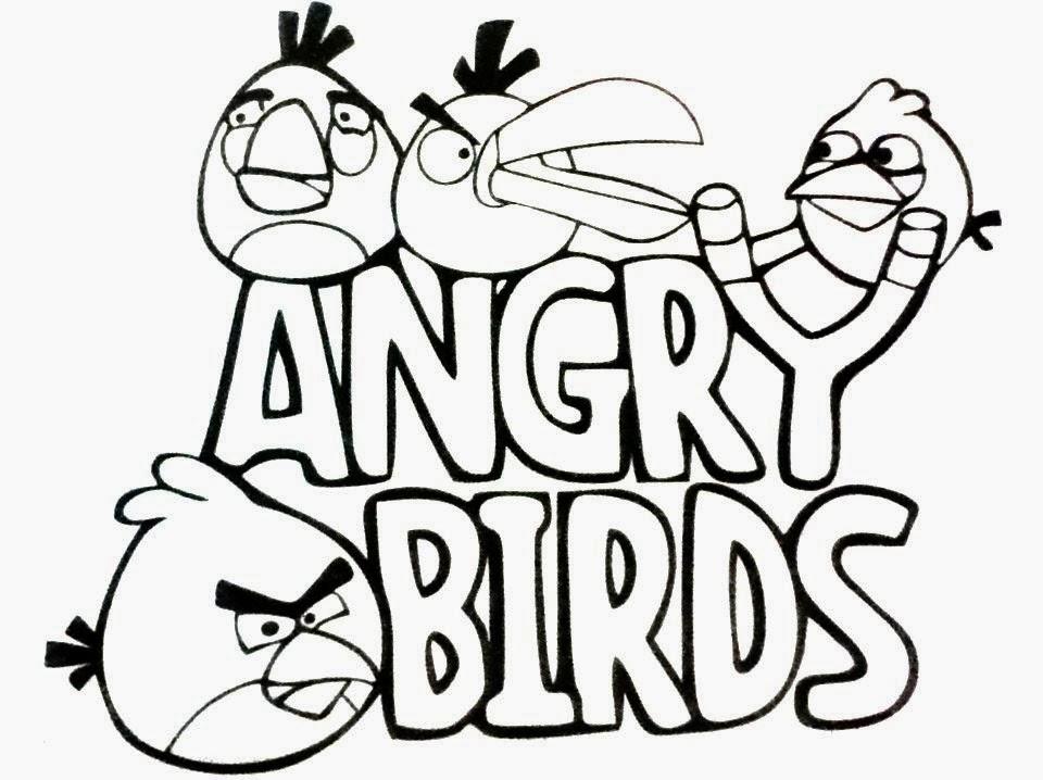 Dibujos De Angry Birds Para Pintar Dibujos Para Niños