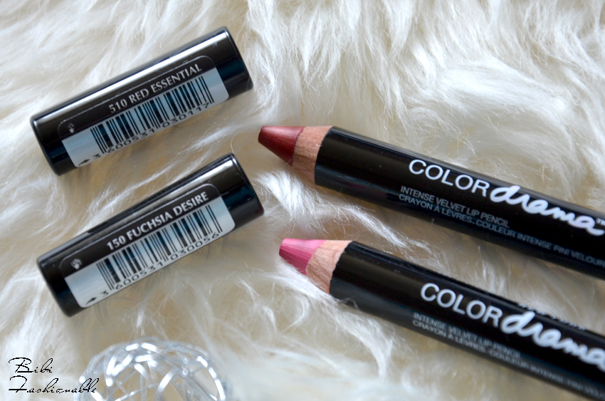 Color Drama Intense Velvet Lip Pencil offen inkl Namen