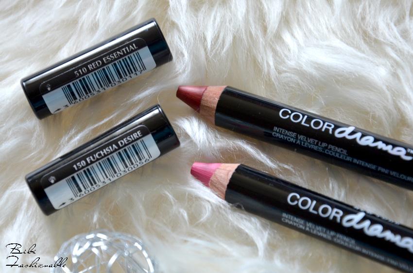 Color Drama Intense Velvet Lip Pencil offen inkl Namen