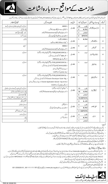 101 Doctors, Admin & DEO Jobs in State Life Insurance Corporation Pakistan
