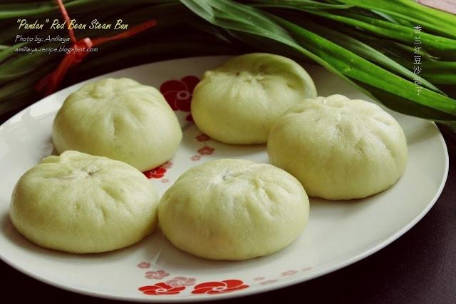 老面 - 香兰红豆沙包子