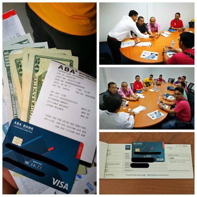 Pendaftaran dan pembukaan Current Akaun ABA Bank - CAMBT International