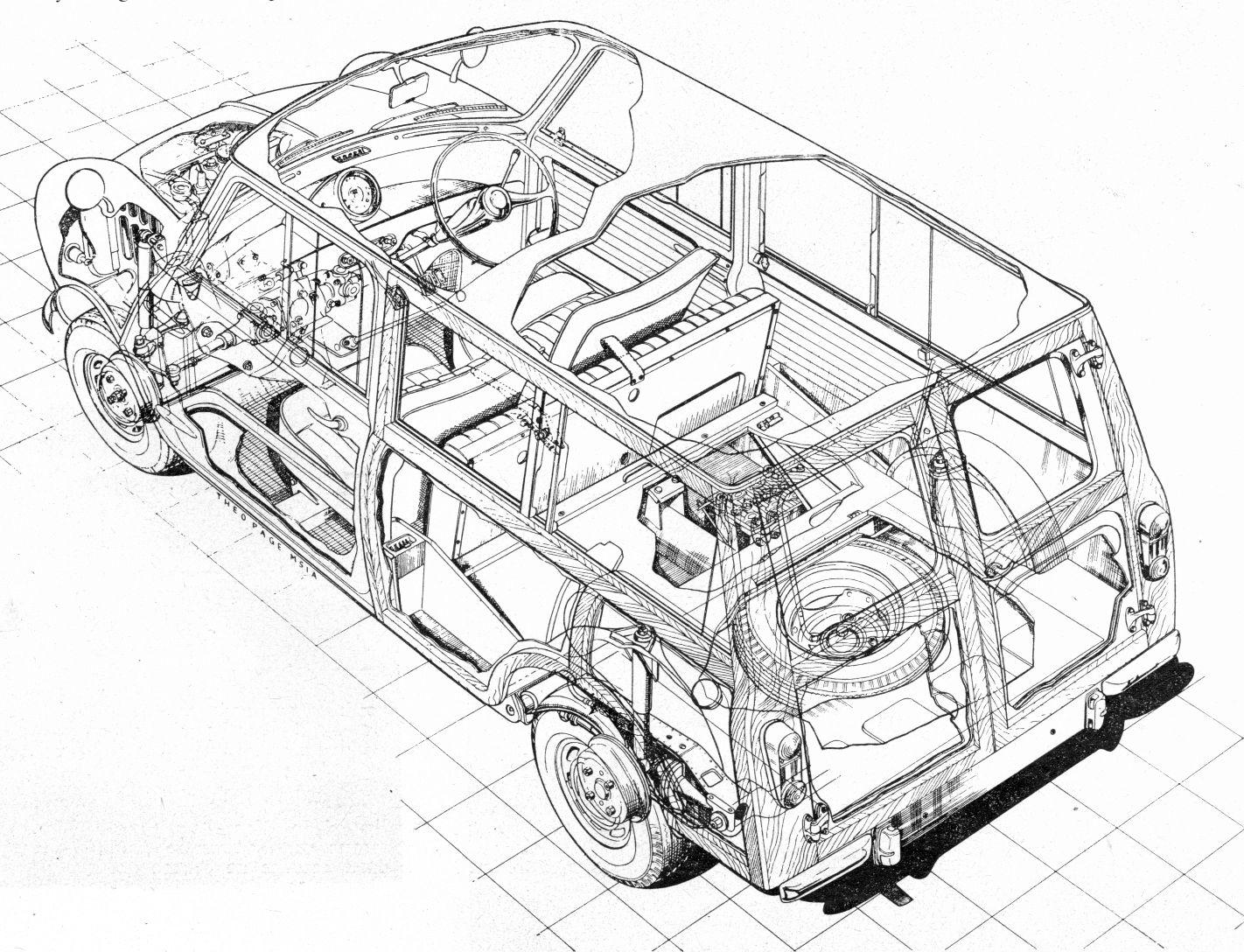 Tim's Mk1 Morris Mini Traveller Restoration: Mini Estate
