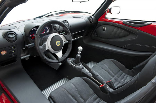 2016 Introduce Lotus Elise Sport and 220 Edition interior view