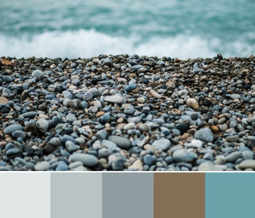 Beach Pebbles Color Scheme