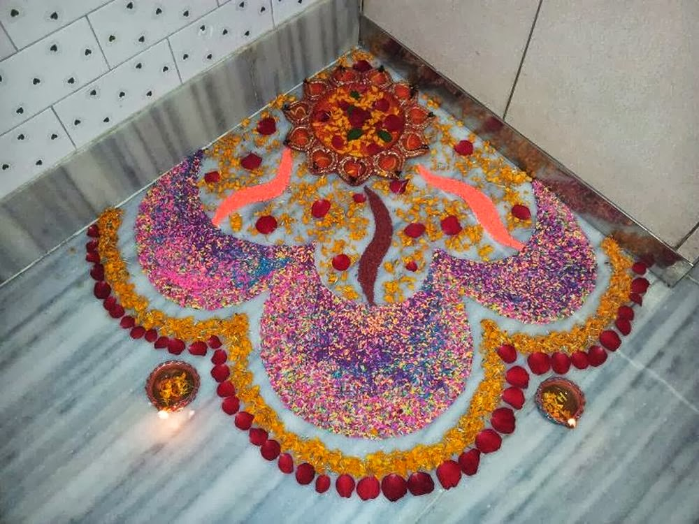 Easy Rangoli Designs: Make them without a hassle - Starsricha