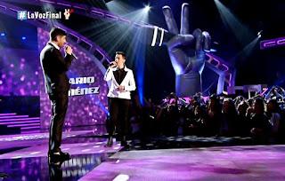 Mario y Melendi cantan La Casa No Es Igual Final La Voz