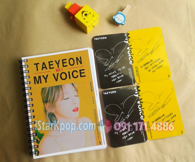 CARD MY VOICE TAEYEON