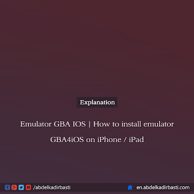 How to install emulator GBA4iOS on iPhone - iPad