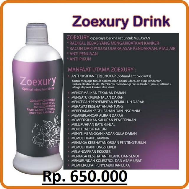 Manfaat Zoexury Produk bos