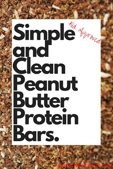 peanut butter protein bar, no bake healthy snacks