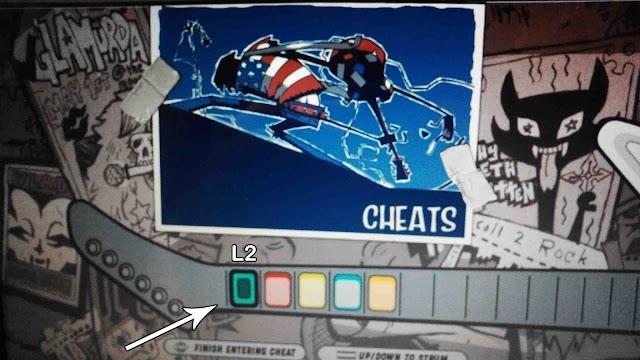 cara cheat guitar hero 3