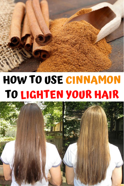 How to use cinnamon to lighten your hair