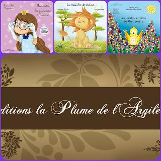 ALBUMS PUBLIES A LA PLUME DE L'ARGILETE DE NANOU MILA