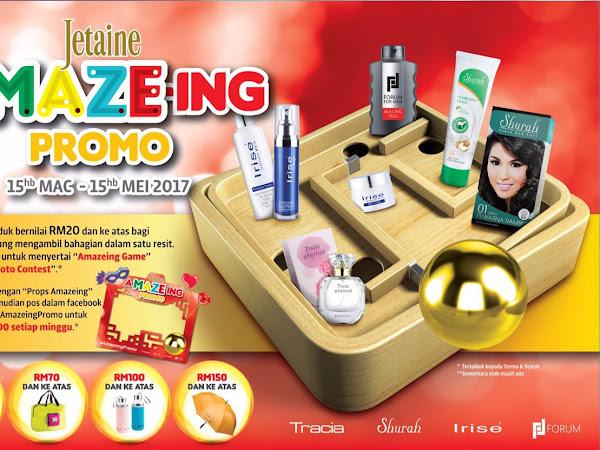 Menangi RM100 setiap minggu dengan #Amazeingpromo Shurah