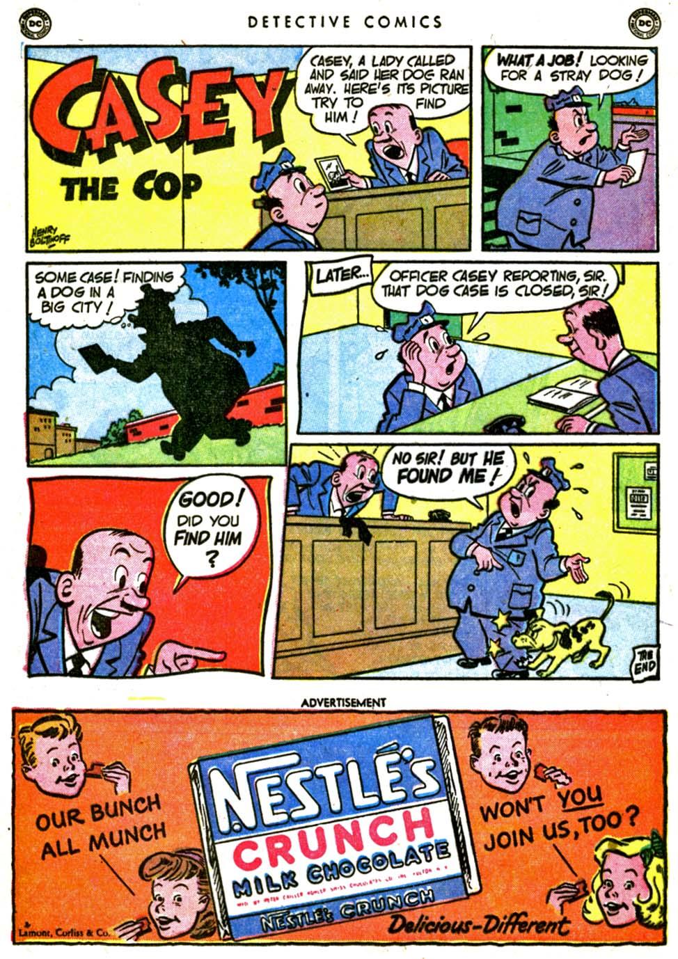 Read online Detective Comics (1937) comic -  Issue #162 - 16