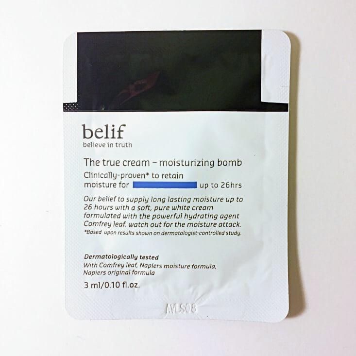 Belif The True Cream Moisturizing Bomb