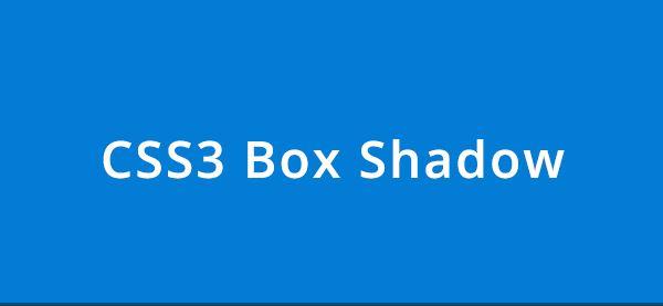 Cara membuat box shadow pada css