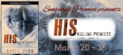 HIS KILLING PRINCESS by @AprilZyon #darkromance #bdsm #mafia @EvernightPub