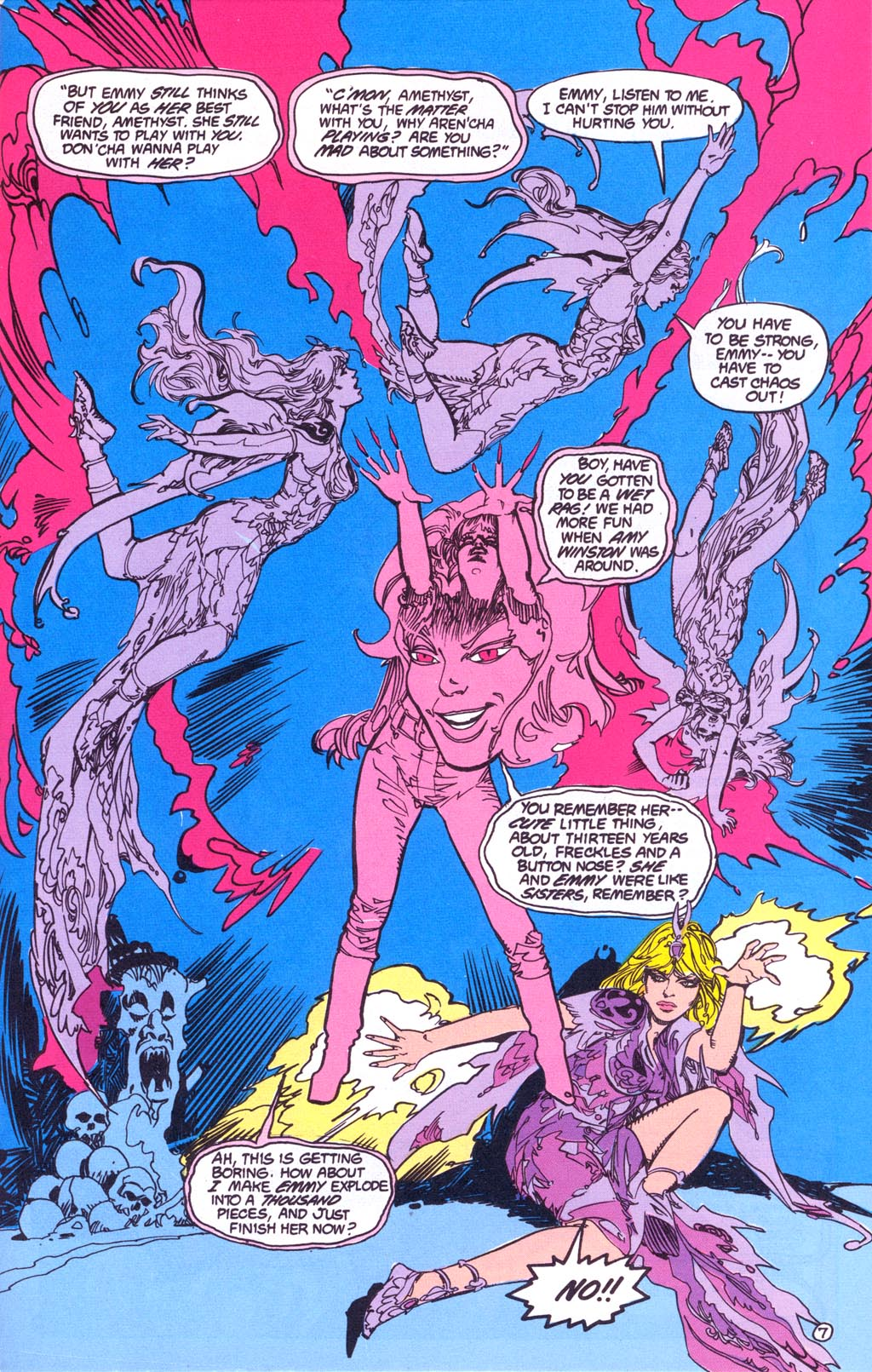Read online Amethyst (1987) comic -  Issue #3 - 9